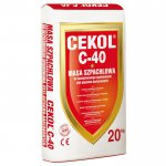 Cekol - putty for strapping GK C-40 boards