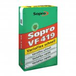 Sopro - elastic adhesive mortar for floors, fast-setting VF 419